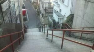 須賀神社階段2(再会シーン)