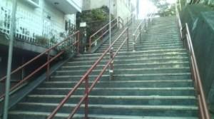 須賀神社階段(再会シーン)
